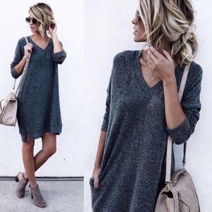 Cherish Kinley 3/4 Sleeve Sweater Dress